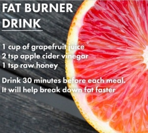 All Natural Fat Burner Drink