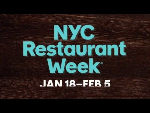 NYC Restaurant Week Is Back…